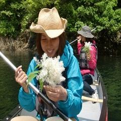 【カヌー体験と2食付コース】大自然!感動!貸切温泉!非日常の癒し旅・個室でお食事♪