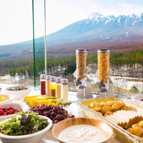 【WEB限定】◆朝食付◆最上階12階で楽しむ朝食でアクティブな一日をスタートさせよう!