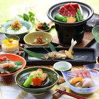 【当館最上級】のどぐろとしまね和牛。旬の味覚に高級食材を合わせた贅沢創作会席グルメコース・プラス