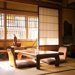 純和室6畳間+縁側 (国登録有形文化財)