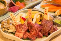≪いわいの極選膳/お食事処≫白老牛3種盛&お刺身種盛&ズワイ蟹!-贅沢プラン♪-