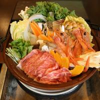 ◆◇冬季限定◇◆ 囲炉裏客室でしか食べられない!3種類の味が楽しめる囲炉裏三宝鍋会席プラン♪