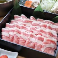 【和食会席☆豚しゃぶ】自慢のもち豚ロースをご堪能♪