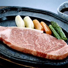 ★仲良しカップルに★壱岐牛ステーキ200gを二人で分け分け♪