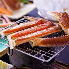 【蟹+蟹+蟹】 『お国自慢かにづくし』 ★ずわい蟹まるまる1杯+焼蟹+蟹鍋 蟹好きなあなたのために♪