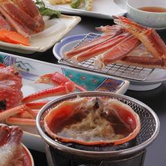 【刺×茹×焼×鍋×天×甲羅味噌 他】 極上活ずわい蟹フルコース ★お値打ちにいろんな食べ方で蟹三昧♪