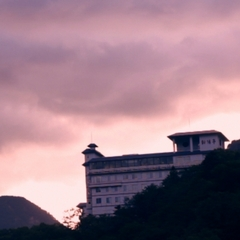 層雲峡朝陽亭