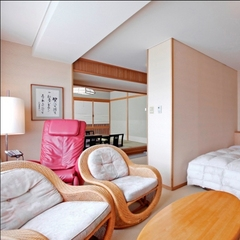 【限定3室の特別ルーム】マッサージチェア付和洋室/53平米