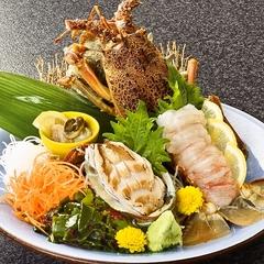 伊勢海老と鮑の伊豆2大海鮮盛付き!縁起を担ぐ食材でパワーチャージ【和食膳】