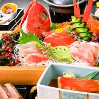 【大人の贅沢プラン】近海で捕れた新鮮金目鯛を贅沢に使った金目御膳♪