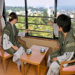 【TRY!九州】 【ご夫婦・カップル旅行にオススメ!】地獄蒸し体験付き♪夕食は選べる会席