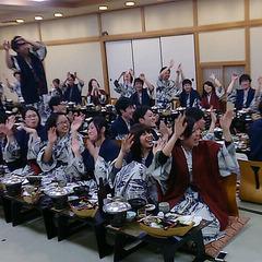 ◆【団体・グループ★謝恩プラン 】一人舟付会席料理と温泉が楽しめる♪