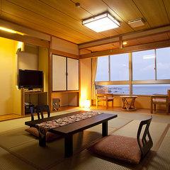 海側禁煙和室 wi-fi完備(食事場所は個室食事処)