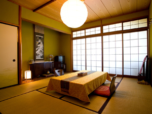 Japanese-Style Room with Dinner
