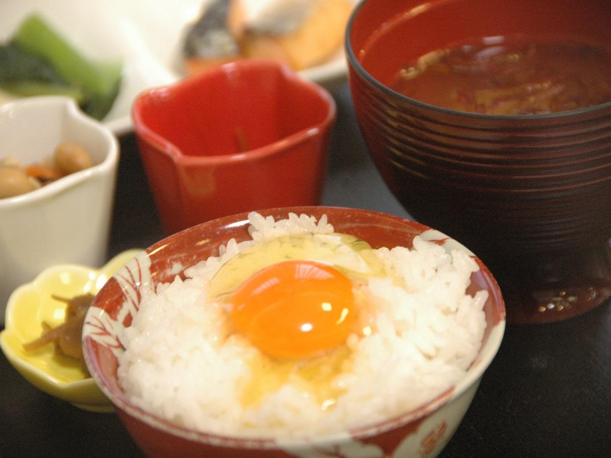 【比内地鶏の極上たまごかけご飯が大人気!】ご夕食はフリーで1泊朝食プラン