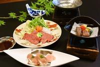 【秋田のブランド牛2種を食べ比べ!】あきたまるごと膳1泊2食スペシャルプラン