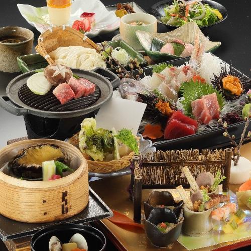【LuxuryDays】【個室露天風呂付き客室】◆2食付《料理長おまかせ特選会席コース》