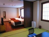 【禁煙】和室8畳+洋室(バリアフリー)