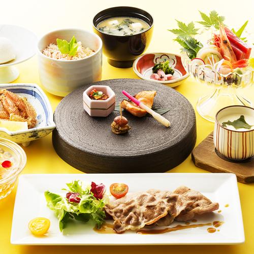 【朝食・夕食あり】 北海道満載!夏の満喫会席付プラン【ゆったりとした半個室の日本料理レストランにて】