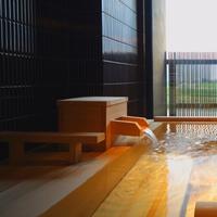 【ベッドルーム付★檜の半露天風呂付準特別室で過ごす】ワンランク上の旬のグルメを堪能<雅コース>