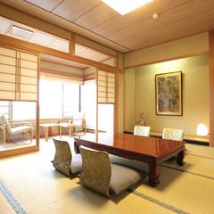 バス・トイレ付10帖和室:景色日本海側