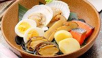 【支笏湖の秋を堪能】支笏湖チップ塩焼きと秋の宝楽焼会席