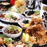 【楽天スーパーSALE】10%OFF☆【人気居酒屋の鶏コース料理と約60種類の飲み放題つきプラン】