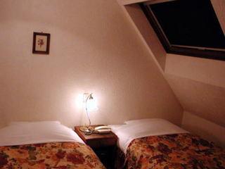 屋根裏部屋風ロマンチックな角部屋
