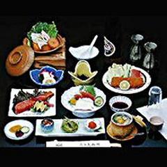 旬の食材を満喫&天然ミネラル鉱石「あやめの湯」を堪能!≪2食付≫プラン