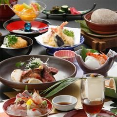 ★美食晩餐★ 量もちょうどいい 質を上げて舌でも目でも楽しむプラン♪品数少なめ会席☆