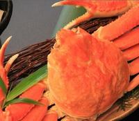 【かに会席プラン】ずわい蟹1杯の姿盛りと国産牛ミニステーキ付きデラックス料理♪山陰冬の香りを堪能☆