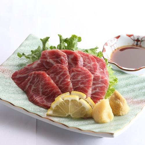 <プラス一品/特選馬肉刺身>旬の味覚満載★バイキング+甘みと旨みがクセになる新鮮な馬肉も堪能