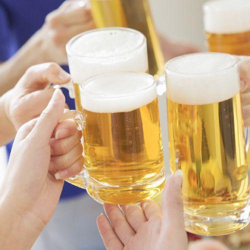 旬の味覚祭【飲み放題付!】バイキング+各種アルコール!ほろ酔い宴プラン♪
