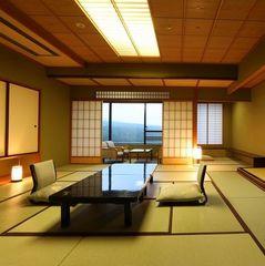 【禁煙】【草津一望の高層階&数奇屋造り】新客殿 特別室