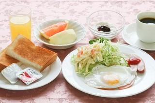 忙しい朝でもしっかり朝食!朝食付プラン[駐車場完備]