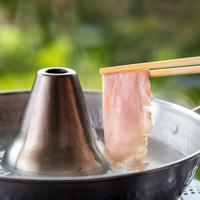 【食べ放題シリーズ★豚しゃぶ】しかもお肉は地元名産のワイントンで。存分に食べても8500円〜♪