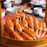 【リーズナブルでもズワイ蟹食べ放題】銘柄豚『ワイン豚』と牡蠣鍋に海鮮蒸篭も!8500円〜☆風雅膳