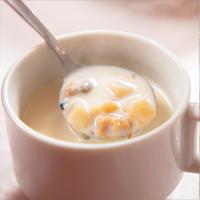 【一泊朝食】メカッ!と目覚めるメカカレーや特製クラムチャウダーが人気♪港の朝ごはん