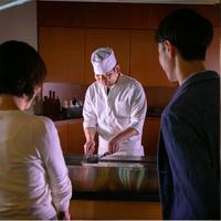 【海鮮ステーキ御膳】出来立てアツアツ!気仙沼産≪フカヒレ≫&柔らか≪メカジキ≫のステーキ♪