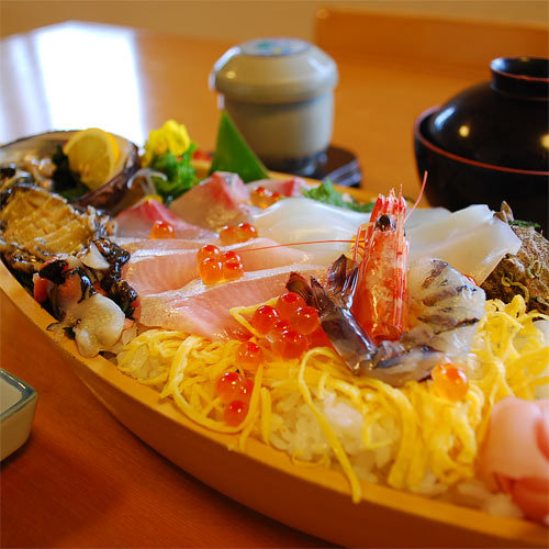 ●海鮮ちらし●志賀島の海、食材、自然…体感して下さい♪