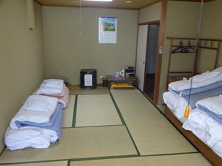 【ひろびろ和室の12畳 バストイレ共同*6名様まで宿泊可】