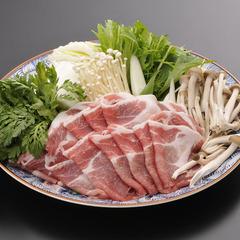 【白馬豚しゃぶしゃぶ会席】地元のブランド豚とふるさとの湯満喫プラン<1泊2食付>