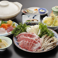 【信州味噌鍋会席】からだあったまる郷土味噌鍋とふるさとの湯満喫プラン<1泊2食付>