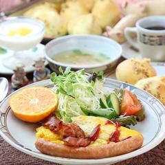 朝食付きプラン(焼き立てチーズケーキ付) ※夕食無し※