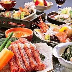 【屋上貸切露天風呂を35分貸切付】国産和牛ステーキを食す!!ステーキ会席プラン
