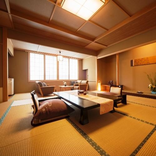 特別和室で過ごす上質な寛ぎ空間◆旬彩会席&プレミアム特典付き★3名様までは夕食はお部屋でのんびりと