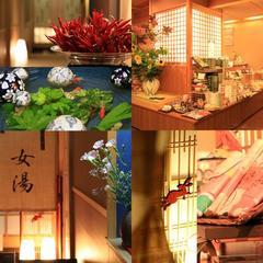 【カップル】におすすめ★和牛と三元豚&旬菜会席★貸切露天無料&5大特典付き■夕食はお部屋でのんびりと