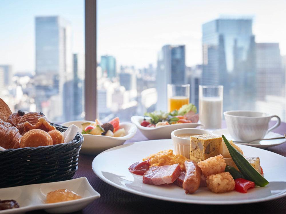 【朝食プレゼント】45日前までの早得!27階レストランでのビュッフェ朝食付プラン