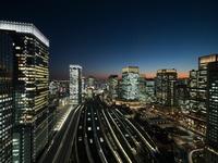 【トレインビュールームステイ】高層階で楽しむ東京夜景!オリジナル「手ぬぐい」プレゼント付