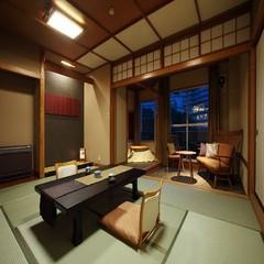 《喫煙》羽衣棟【部屋食】和室10畳+モダン堀こたつWi-Fi